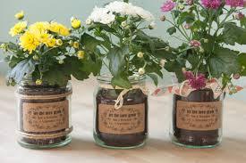 flower pot favors wedding flowers flower pot wedding favors