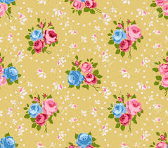 Shabby Chic Rose by Shabby Chic Roses Seamless Pattern Classic Floral Background