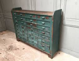 meuble de metier industriel meuble de métier atelier 32 tiroirs