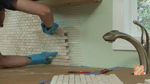 How To Install A Kitchen Backsplash Video - how to install a two handle kitchen faucet kitchen how to