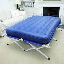 Folding Air Bed Frame Interesting Folding Air Bed Frame With Portable Bed Frame For Air