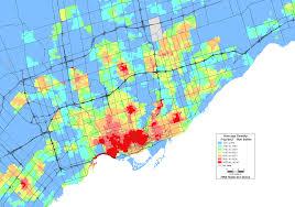 california map population density ttc relief line drl page 358 urbantoronto