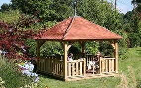 gazebo da giardino in legno prezzi un gazebo per giardini d elite
