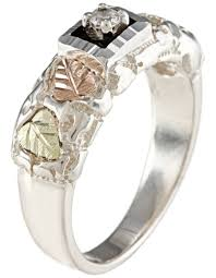 Black Hills Gold Wedding Rings by Men U0027s Gemstone Black Hills Gold Bands Boomer Style