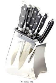 stainless steel kitchen knives set kitchen stainless steel knife block stainless steel knife block