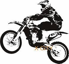 Tattoo Home Decor Motocross Motorbike Cool Sport Creative Vinyl Wall Decal Art Home