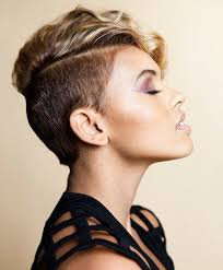 very short pixie hairstyle with saved sides shaved sides pixie haircuts for women full dose