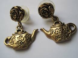 gaudy earrings tea with friends teatime jewelry week day 5 contemporary designs