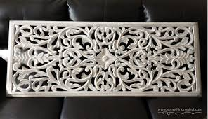 white carved wood wall panel hometalk