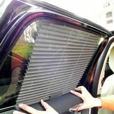 Sun Blocking Window Treatments - car window blinds sun block shades auto retractable side car