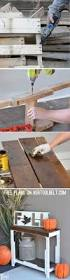 diy free pallet porch table her tool belt