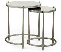 discount designer end tables nesting tables silver nesting tables silver side table silver