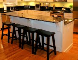 Kitchen Designs With Islands kitchen island 2 levels with display space and inside design ideas