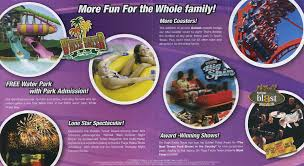 Six Flags Today Theme Park Brochures Six Flags Fiesta Texas Theme Park Brochures
