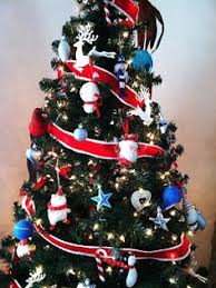 Ideas To Decorate My Tree White And Blue Tree Two Of My Favorite Things