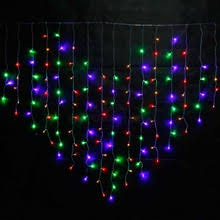popular led dripping icicle christmas lights buy cheap led