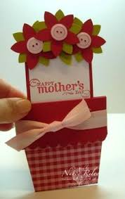 Latest Mother S Day Cards Love This Handmade Card How Cute Would This Be For The Kids To
