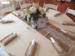 how to make burlap table runners for round tables burlap table runner with lace lace table runners to make the table