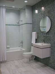 mosaic tile bathroom ideas glass tile bathroom light gray 2x12 painted subway glass