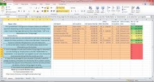 Cost Of Living Spreadsheet Cost Of Living Comparison Tool Fernando Medina Corey