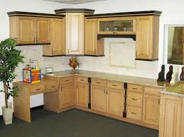 Kitchen With Light Wood Cabinets by Kitchen Room Rustic Light Brown Wooden Kitchen Island And