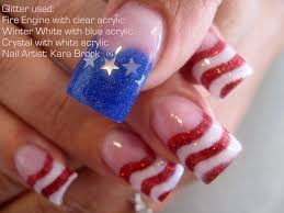 American Flag Design American Flag Nail Art Designs Image Collections Nail Art And