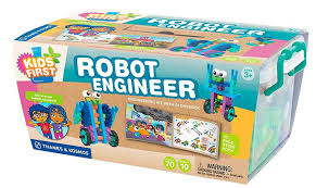 amazon com kids first robot engineer kit and storybook toys u0026 games