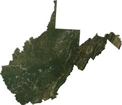 Virginia Mountains Map by Mining Permits Across West Virginia Image Of The Day