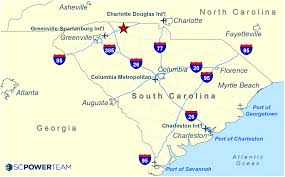Atlanta County Map Cherokee County Shell Building Sc Power Team Sc Power Team