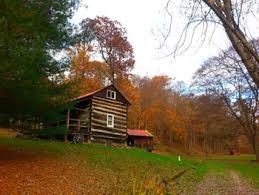 Hocking Hills Cottage Rentals by Modern Rustic Frontier Log Cabin Rental In Hocking Hills With Free