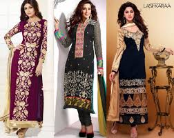 latest ethnic trends in straight cut salwar kameez