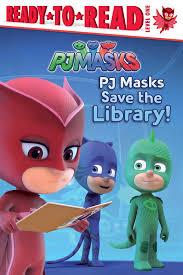 amazon pj masks save library 9781481488921 daphne