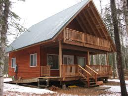 home design story cabin nearing pletion in alaska 24x24 cabin