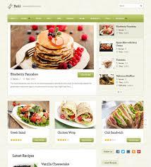 50 best restaurant u0026 cafe wordpress themes web designer hub
