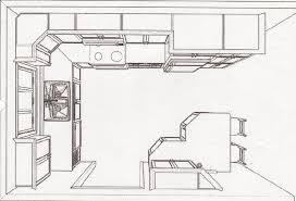 plan de cuisine en l 35 modeles de cuisine séduisant plan de cuisine amenagee idées