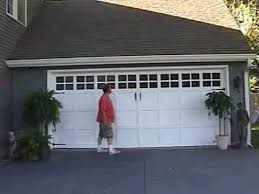 Faux Paint Garage Door - quick easy garage door make over youtube