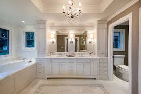 High End Bathroom Vanities by High End Vanities Powder Room Contemporary With Triple Pendant