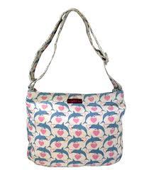 bungalow360 cotton canvas large messenger tote bag 2017 new