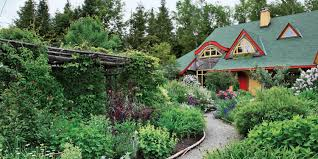 Gardens Ideas Front Yard Garden Design Before Sloping Granite Boulders