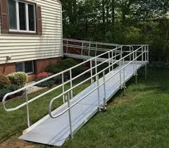 Wheel Chair Ramp Wheelchair Ramp Kit Considerations Freedom Access Homes