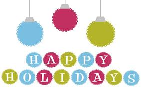 happy holidays clip clipartbarn