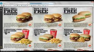 printable vouchers uk free burger king vouchers uk 2014 youtube