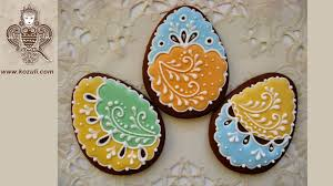 Decorating Easter Eggs With Icing by Easter Egg Cookies Cookie Decorating Tutorial With Royal Icing