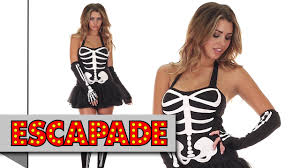 Halloween Skeleton Bodysuit Skeleton Halloween Costume Halloween Fancy Dress Costume