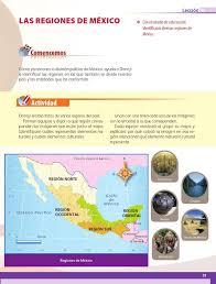 libros para leer de cuarto grado las regiones de méxico bloque i lección 4 apoyo primaria