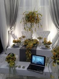 wedding backdrop set up 29 best bridal show set up images on booth ideas