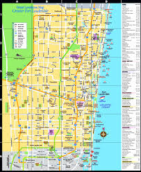 Fort Lauderdale On Map Fort Lauderdale Tourist Attractions Map