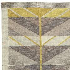 Modern Flat Weave Rugs Vintage Swedish Flat Weave By Ingrid Dessau Bb5694 By Doris Leslie