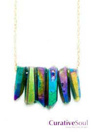 titanium gold necklace images Titanium quartz crystals and healing jewelry jpg