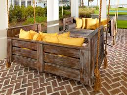 give a natural impression by using rustic outdoor furniture for your